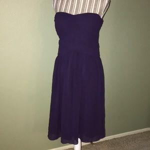 Donna Morgan Dresses - Donna Morgan strapless gown size 12
